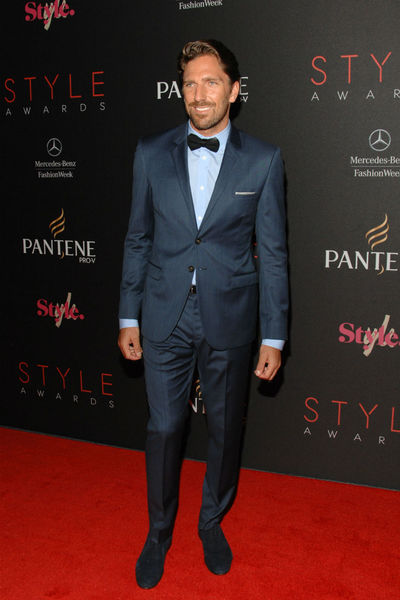 Henrik Lundqvist at the Style Awards at the tents at Lincoln Center, Wednesday, September 5, 2012.