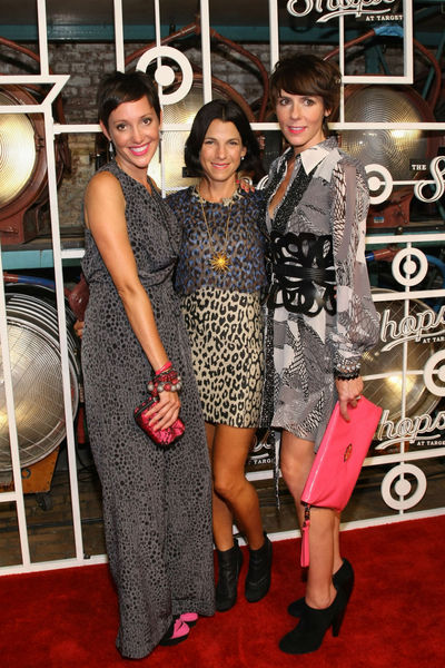 Krina Zabete's Beth Buccini, Jessica Seinfeld and Sarah Easley at the Target Shops launch at the Highline Ballroom in the Meatpacking District, Wednesday, September 5, 2012.