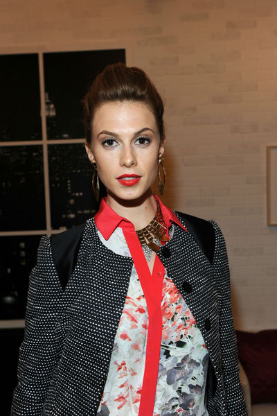 Elettra Wiedeman at the Style Awards at the tents at Lincoln Center, Wednesday, September 5, 2012.
