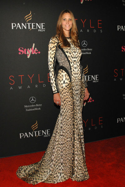 Stephanie Winston Wolkoff at the Style Awards at the tents at Lincoln Center, Wednesday, September 5, 2012.