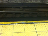 Straphangers Warn of Tripping Hazard on 168th Street A Train Platform