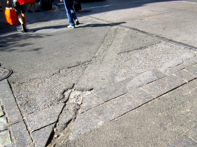 The DOT will repair crosswalks in SoHo in fall 2012, a spokesman for the agency said Sept. 5, 2012.