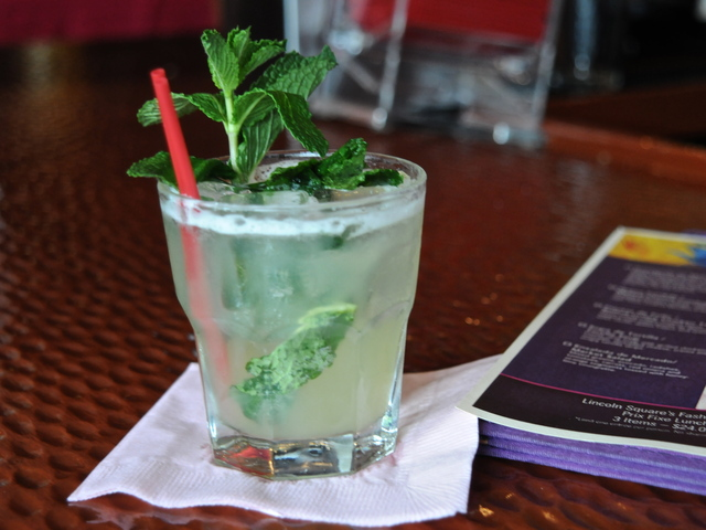 The mojitos are $6 during happy hour at Rosa Mexicano.