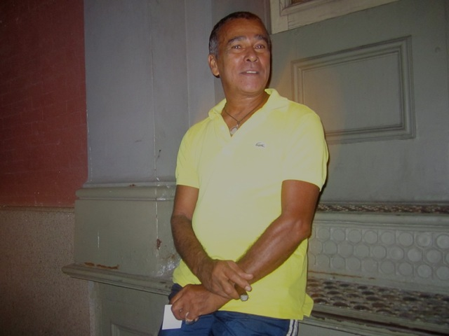 Longtime SoHo resident Carlos Albuquerque, 46, said on Fashion's Night Out Sept. 6, 2012 he wasn't sure where the fashion was.