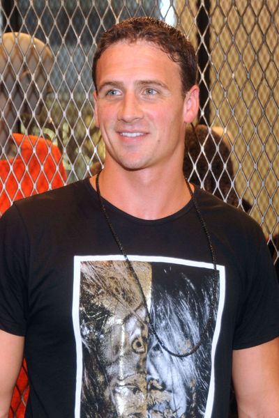 Ryan Lochte celebrating Fashion's Night Out at Calvin Klein on Madison Avenue, Thursday, September 6, 2012.