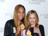 Olympians Put Medals to Use at Fashion Week