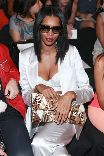 jessica White at the BCBGMAXAZRIA show at Mercedes Benz Fashion Week at Lincoln Center, Thursday, September 6, 2012.