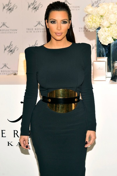 Kim Kardashian at Lord and Taylor's event for Fashion's Night Out on Thursday, Sept. 6, 2012.