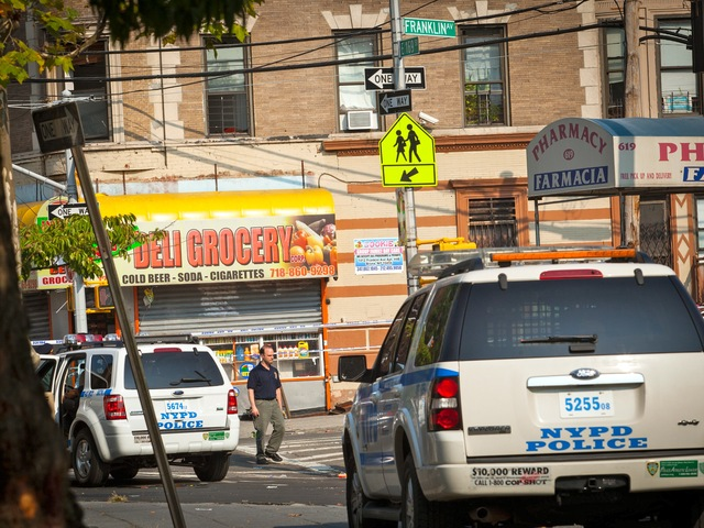 A bodega worker was shot and killed by cops after armed robbers burst into the store in the early morning hours of Sept. 7, 2012.