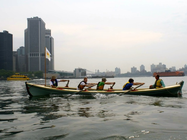 Each team will have four people, rowing to raise funds for international youth soccer programs.