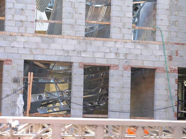 The scene of an interior collapse at a construction site at 227 Carlton Avenue in Brooklyn on Monday September 10th, 2012.