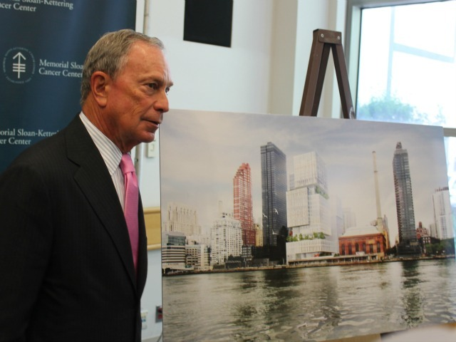 Mayor Michael Bloomberg announced the deal for the new medical facilities on the Upper East Side at a press conference Sept. 10, 2012.