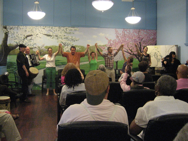 Research shows that arts activities such as dance and music improves the health of Alzheimer's patients.