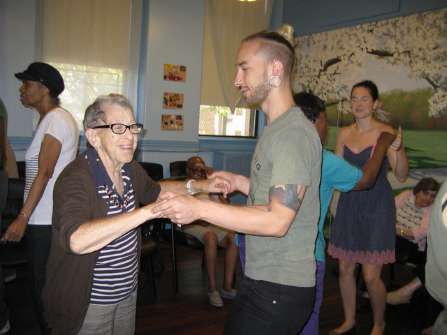 Alzheimer's patients at the New York Memory Center do creative activities like dance as a way to improve their health. On Sept. 13 the center will host a poetry writing event.