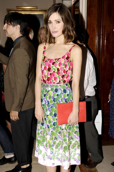 Actress Rose Byrne at the Marc Jacobs post-show party at the New York Yacht Club on Monday, Sept. 10, 2012.