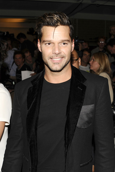 Ricky Martin at the Marc Jacob runway show on Monday, Sept. 10, 2012.