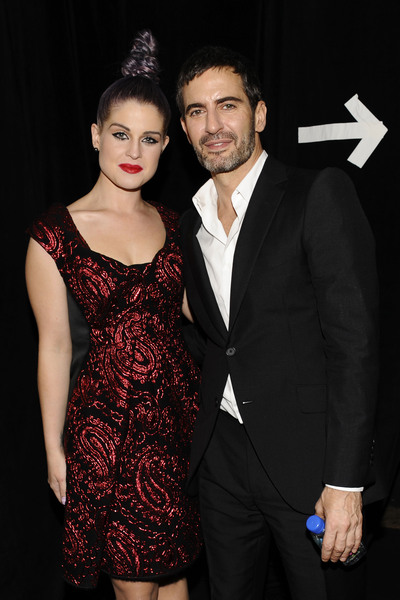 Kelly Osbourne and Marc Jacobs at the designer's runway show on Monday, Sept. 10, 2012.