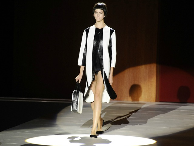 A look from the Marc Jacobs Spring 2013 Fashion Week show on Monday, Sept. 10, 2012.