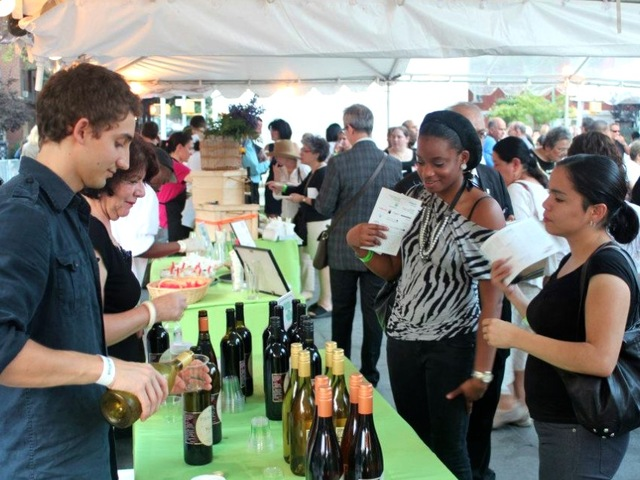 Food and wine vendors will be on hand in Washington Square Park Sept. 12, 2012 for Taste of the Village.