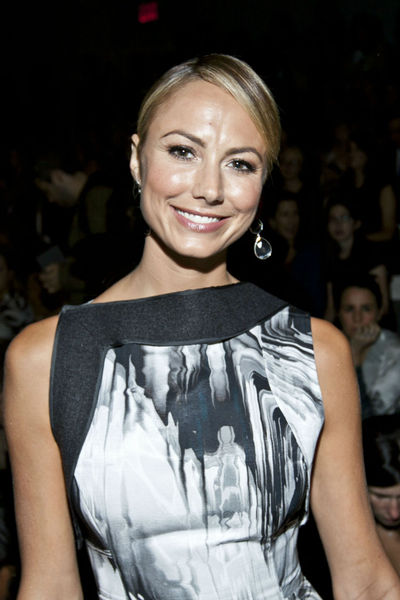 Stacy Kiebler at the Vera Wang show at the Lincoln Center Tents, Tuesday, September 11, 2012.