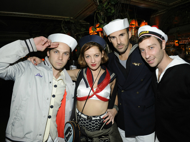 Jennifer Eymere at a 2010 Halloween party at the Jane Hotel in New York City. Eymere was sued on Sept. 11, 2012, over an incident at a Zac Posen fashion show.