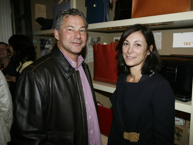 Lynn Tesoro at a Jack Spade event in New York City on March 22, 2007. Tesoro sued three French fashionistas on Sept. 11, 2012, accusing them of assaulting and defaming her at a Zac Posen show.