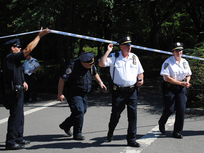 Police swarmed Strawberry Fields to investigate the sexual assault that took place there Wednesday September 12, 2012.