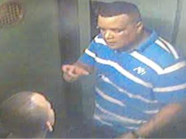 Two men caught on a building surveillance video are suspected of burglarizing a Washington Heights apartment.