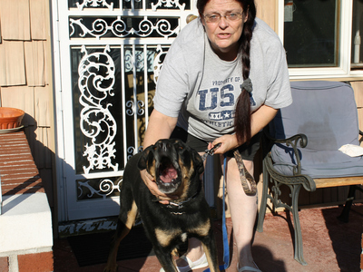Ann Winters was fined by the city for her dog buddy's excessive barking after her neighbors complained.