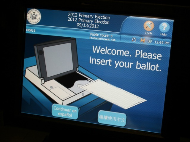 Voters returned to the polls on Thurs. Sept., 2012, for the state primary.