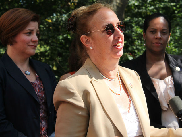 City Councilwoman Gale Brewer said she admired the victim's tenacity in committing to return to Central Park.