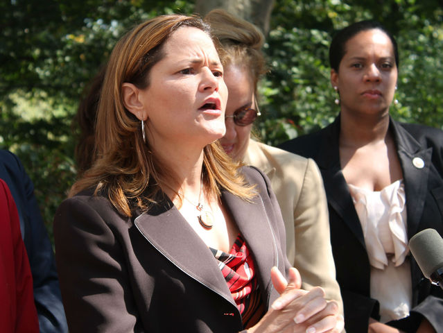City Councilwoman Melissa Mark-Viverito spoke about how rape and sexual assault are the greatest fears of every woman on Thursday, a day after a robbery and rape occurred mid-day in Central Park.