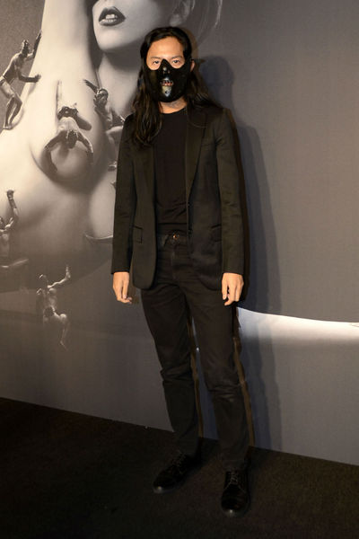 Designer Alexander Wang at the launch of Lady Gaga FAME at the Solomon R. Guggenheim museum, Thursday, September 13, 2012.