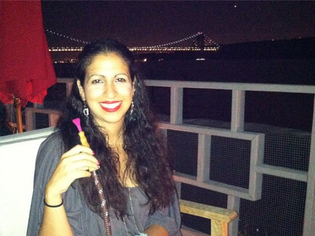 Patrons have been posting photos of themselves smoking hookah at La Marina in Inwood via social media throughout the summer of 2012.