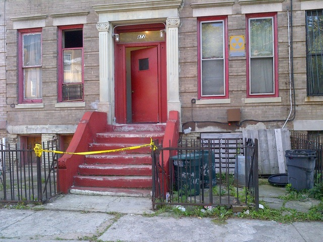 Home of Gloria Cadet, on Jefferson Ave., where the 85-year-old was found stabbed to death on September 14, 2012.
