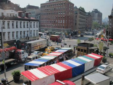 The new Chelsea Triangle French Market added three more vendors for its fall season.