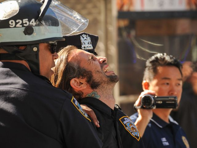 The NYPD has arrested more than 100 people for the Occupy Wall Street rally on Sept. 17, 2012.