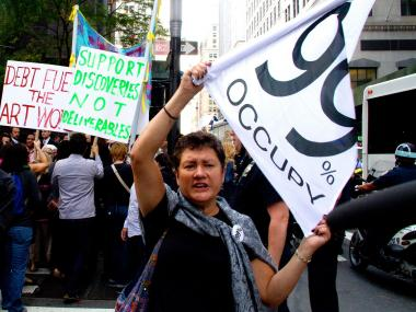 The City agreed to pay more than $350,000 to settle Occupy Wall Street lawsuits over the destruction of property after cops raided Zuccotti Park on Nov. 15, 2011, ending the two-month lonth camp-out that drew international attention.