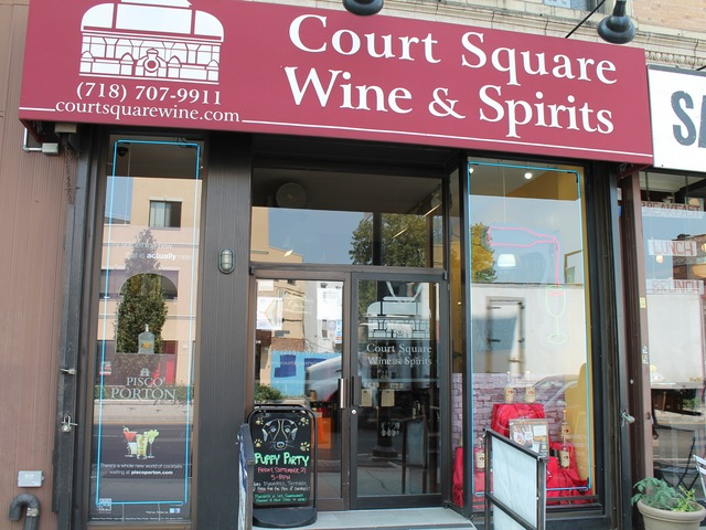 Court Square Wine and Spirits is a dog-friendly store.