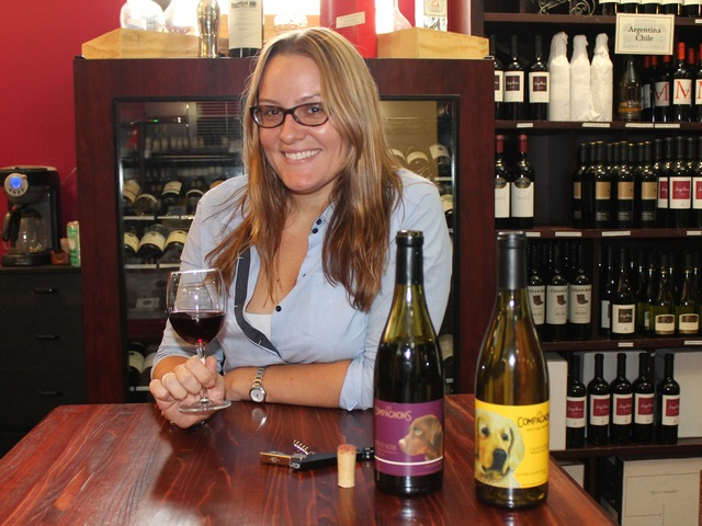 Maegan Kovatch, general manager at Court Square Wine and Spirits.