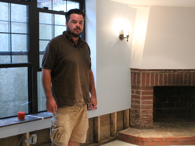 Simon Gouldstone expects to spend over $5,000 repairing his basement.