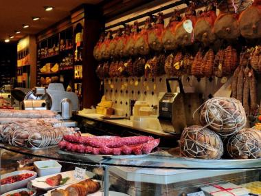 Salumeria Rosi Parmacotto has opened a location at 903 Madison Ave. and East 72nd Street. This shot is from the restaurant's Upper West Side location.
