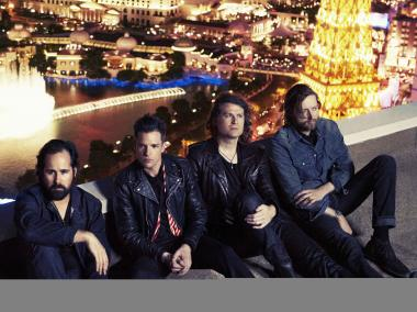The Killers perform tonight at the Paradise Theater in the Bronx. Critically-acclaimed director Werner Herzog is filming the performance, which will stream live on YouTube.