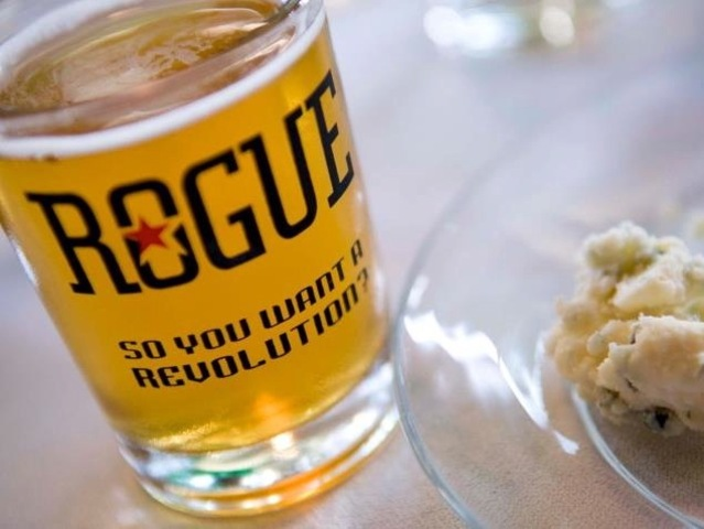 """Bier and Cheese"" will sell beer from Rogue Brewery."