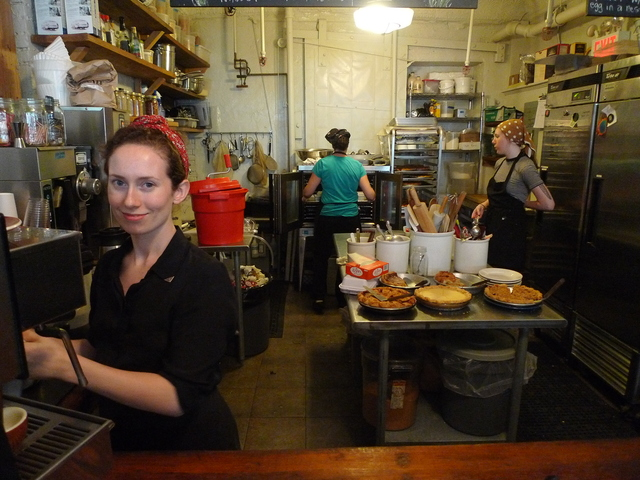 <p>Four &amp; Twenty Blackbirds pie shop in Gowanus.</p>