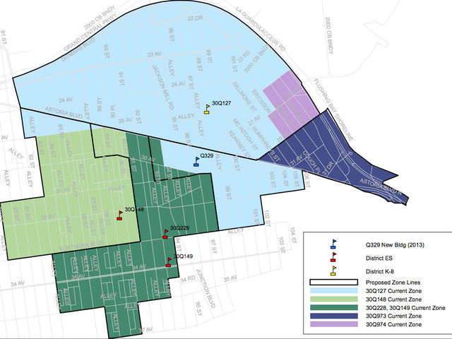 A new plan for part of District 30 in Queens.
