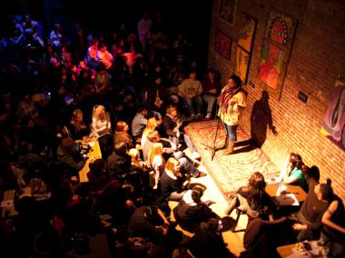 The Nuyorican Poets Cafe is now live streaming events in real time around the world.