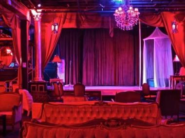 The interior of the former Paris Cabaret and Burlesque at 18 Commerce St., as posted to the nightspot's Tumblr feed.