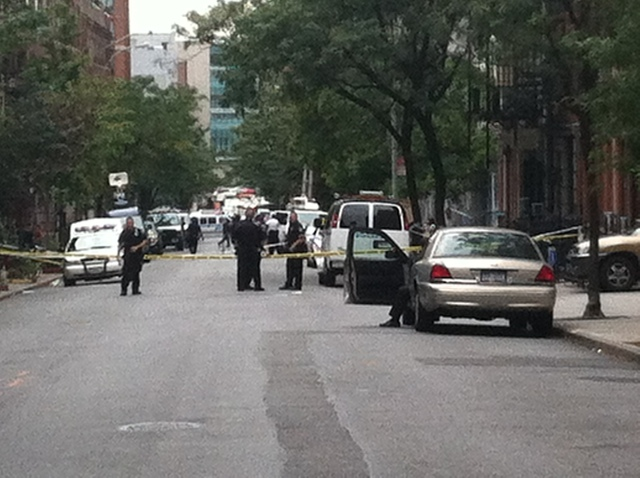 A 19-year-old student was stabbed on West 56th Street Sept. 20, 2012.