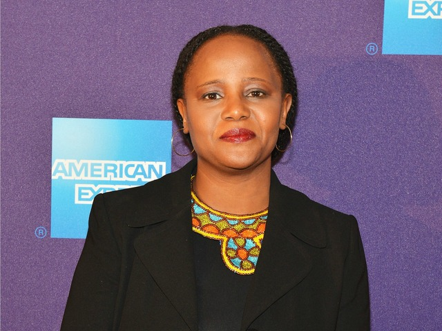 Actor Edwidge Danticat, one of the speakers at the Brooklyn Book Festival, attends 'Stones In The Sun' Premiere during the 2012 Tribeca Film Festival at the Chelsea Clearview Cinemas on April 22, 2012 in New York City.